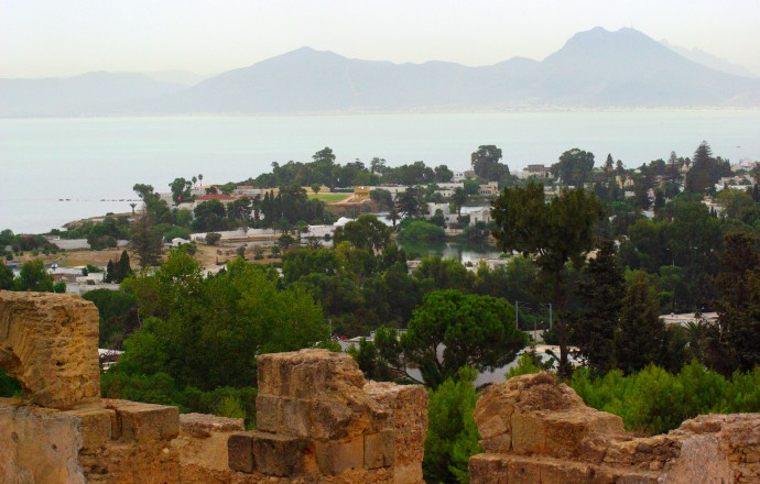kartagina tunezja widok