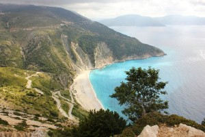myrtos plaża kefalonia