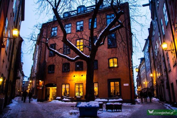 sztokholm stare miasto
