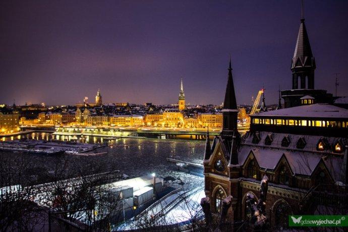 sztokholm widok panorama
