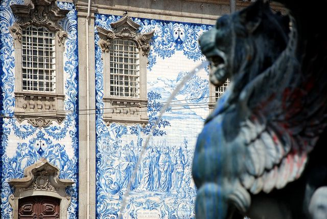 azulejos porto igreja