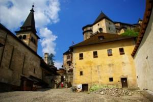 orawski hrad słowacja