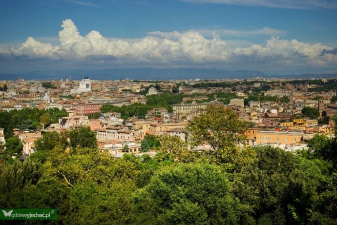 rzym panorama