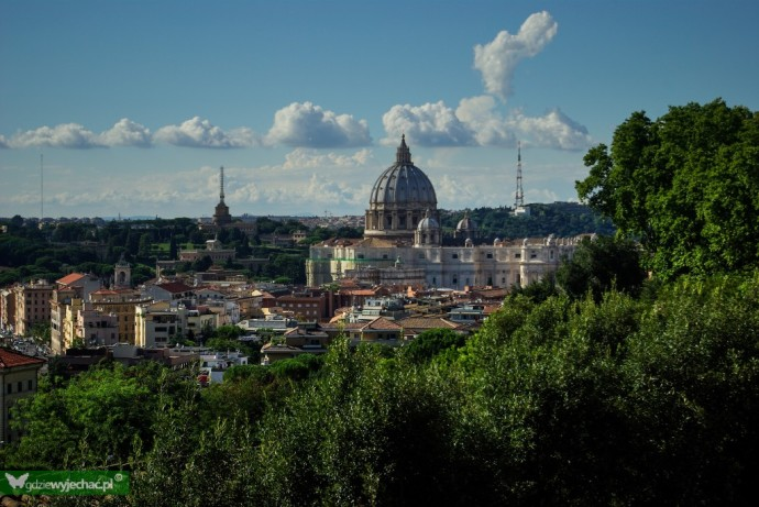 rzym watykan widok