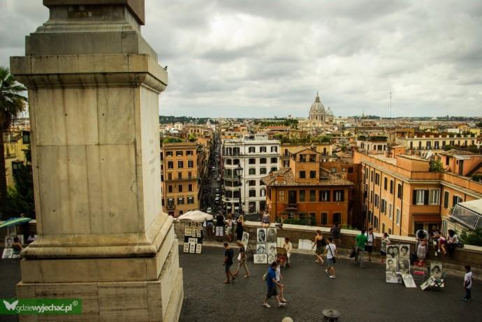 rzym widok