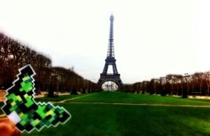 motyl paryż