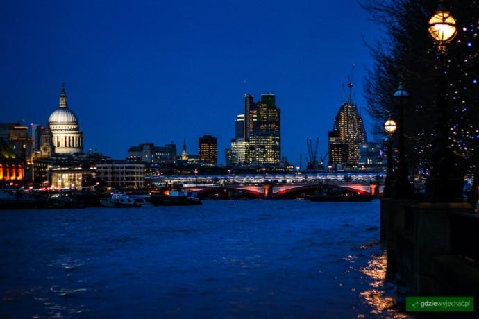 nocny londyn city