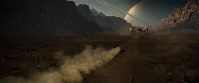 Wadi Rumm w Jordanii. Tam nagrywane były kosmiczne sceny w Prometeuszu. Będziemy tam w maju