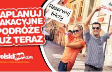 PolskiBus.com – nowa pula bardzo tanich biletów na wakacje