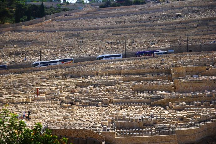 cmentarz muuzlmanski jerozolima