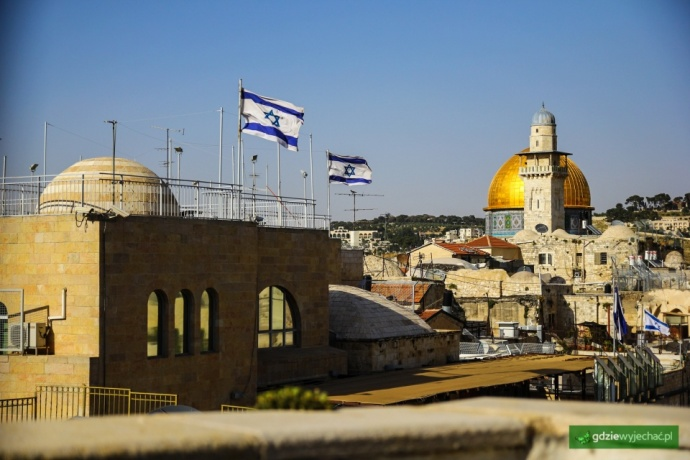 izrael flagi