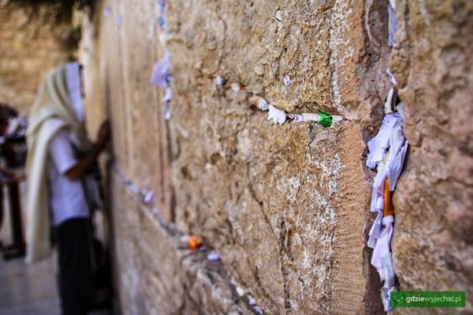 jerozolima ściana placzu