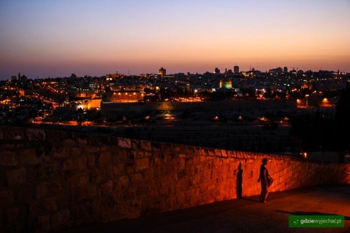jerozolima noc