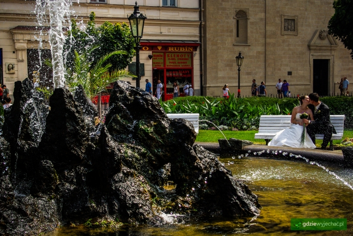 koszyce fontanna