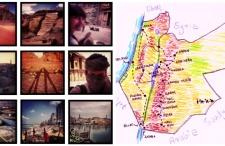 Bliski Wschód dookoła morza w Instagramie. Kwadratowe podsumowanie naszej wyprawy