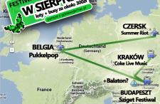 Coke, Sziget, Pukkelpop – lotniczy eurotrip festiwalowy w sierpniu