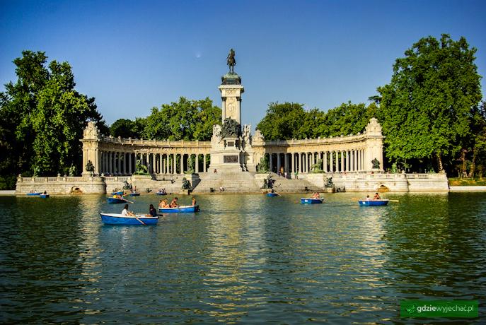 Park Retiro Madryt