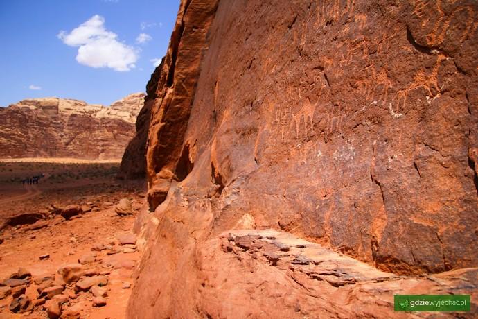 malowidła naskalne nabatejskie