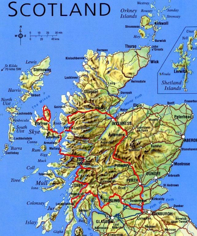 Tanie Loty Do Szkocji I Autobusy Nad Jezioro Loch Ness
