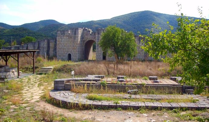 pliska bułgaria ruiny