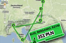 Szybki wrześniowy eurotrip. Budapeszt, Mediolan, Rzym za 351 zł