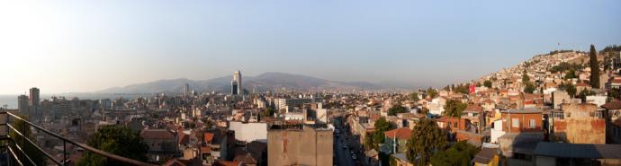 Izmir Turcja panorama