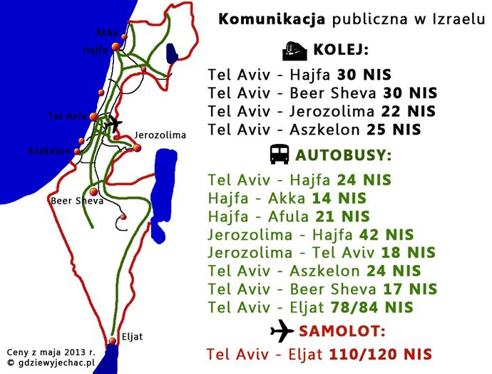 izrael-komunikacja-mapa
