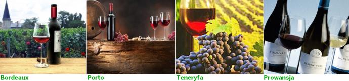 wina wycieczka sladem win