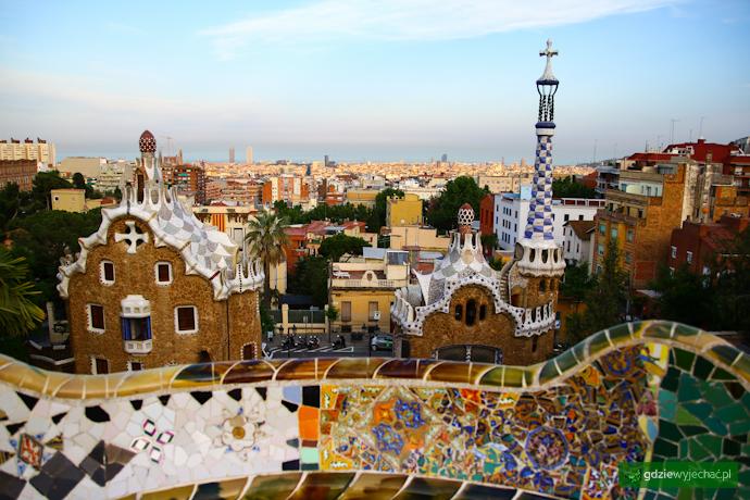Barcelona taras