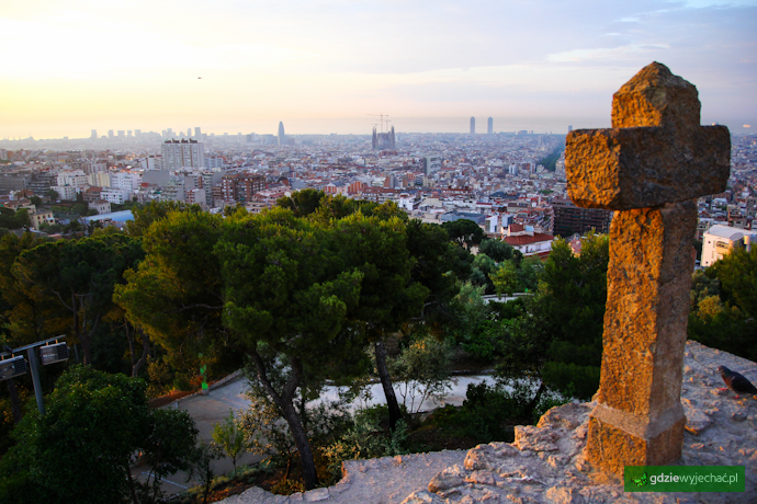 Barcelona widok miasta