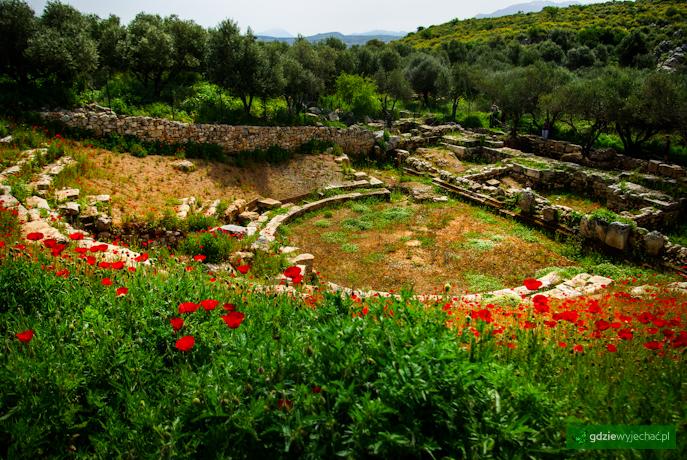 Kreta aptera teatr rzymski