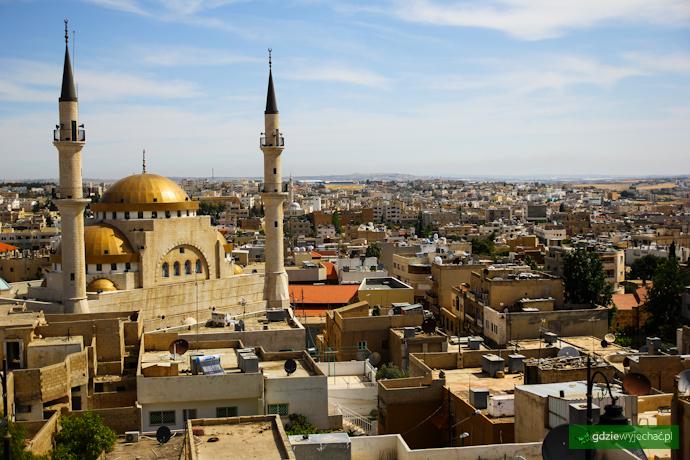 madaba widok jordania