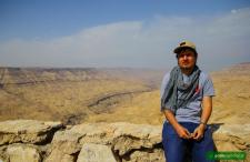 Wąwóz Wadi Al-Mujib. Tak jakby 'Kanion Kolorado' wschodu