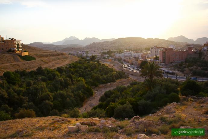wadi musa widok