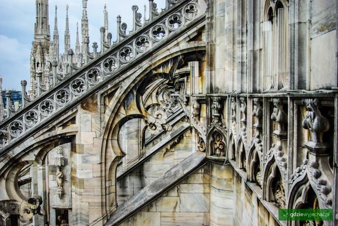 Mediolan duomo katedra