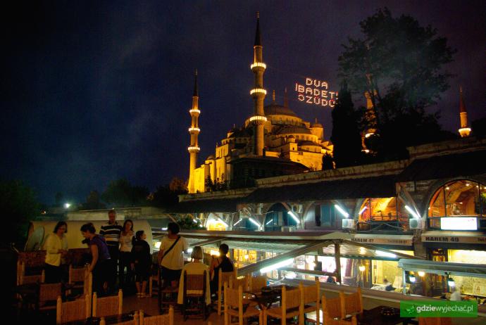 blekitny meczet stambul knajpa