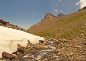 góry Sierra Nevada hiszpania