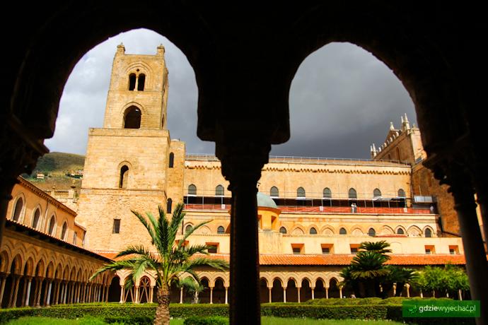 KAtedra klasztor w monreale sycylia