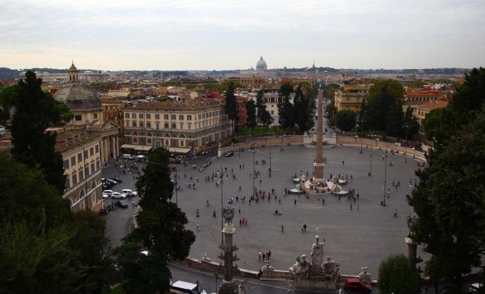 rzym piazza del poppolo