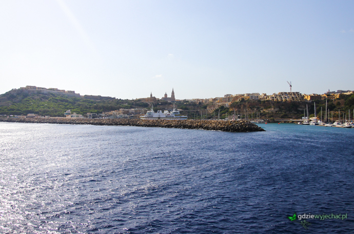 Gozo Mgarr port