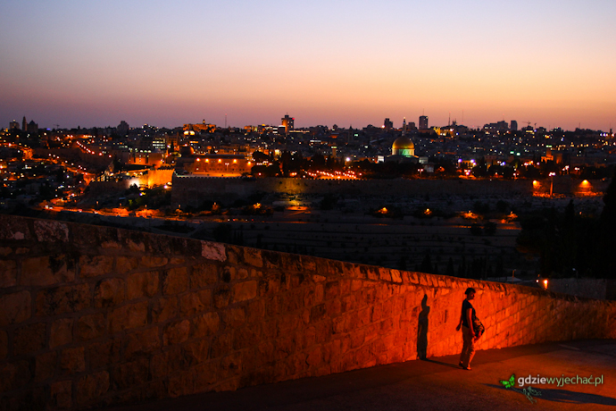 JErozolima izrael noc