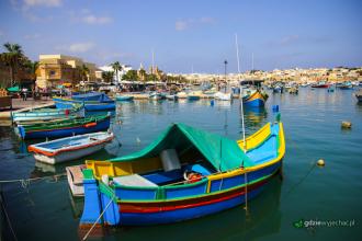 Malta łodzie luzu marsaxlokk
