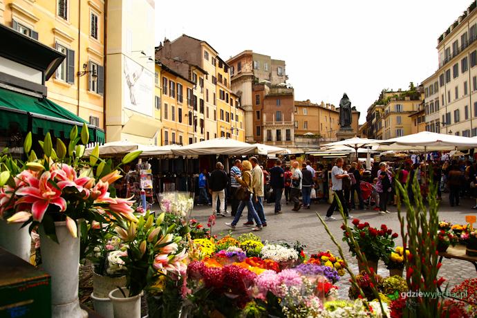 Rzym Campo del fiori