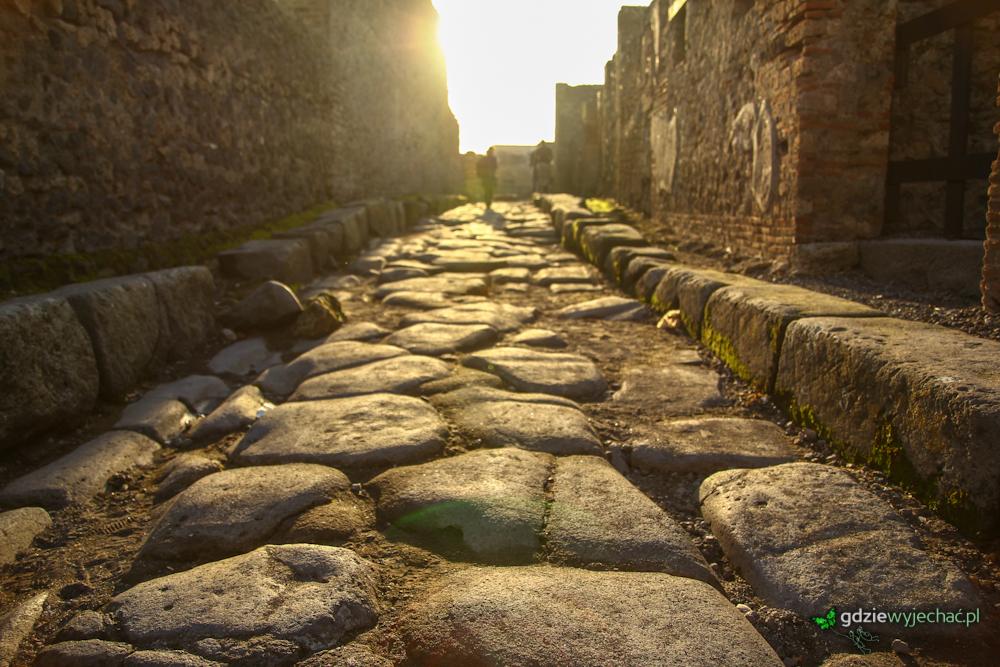 Włochy Pompeje neapol