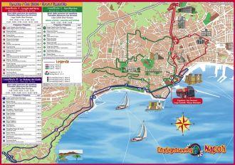 czerwony autobus turystyczny neapol
