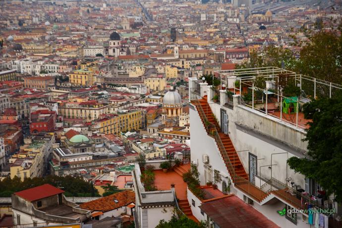 neapol panorama dachy