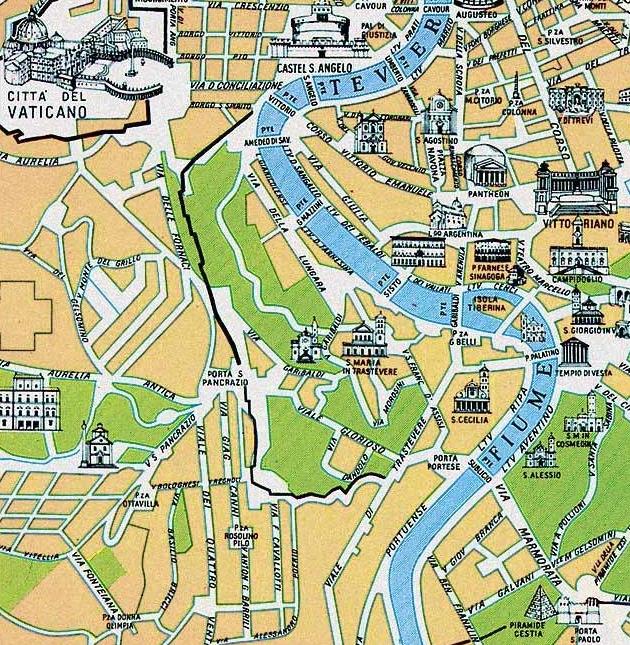 Atrakcje Zatybrza Trastevere Alternatywnej Dzielnicy Rzymu