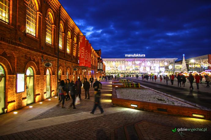 Łódź centrum handlowe manufaktura