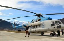 No i jak się leciało helikopterem nad Kaukazem? Relacja Suszka