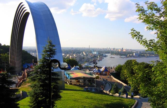 Kijów panorama